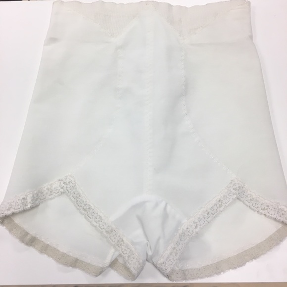Vintage Milady White Panty Girdle High Waisted